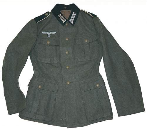 Heer M36 enlisted mans tunic