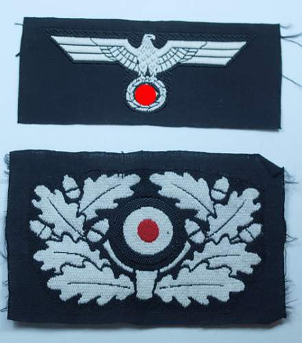 Opinions wanted on this Panzer(?) emblem