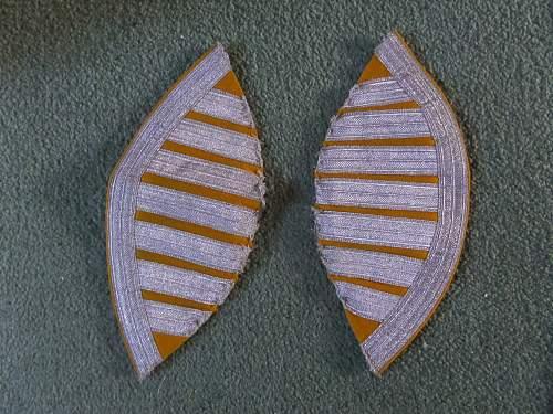 Fea market find Luftwaffe bandsmans swallow tails