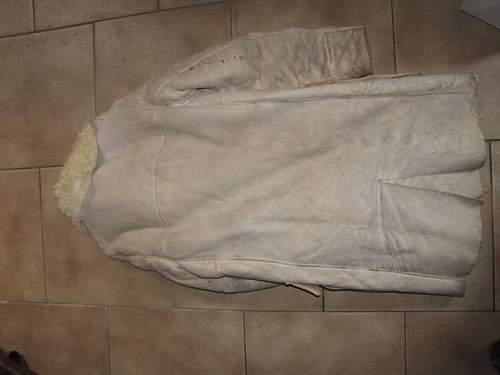 German winterjacket and cap ww2 original?