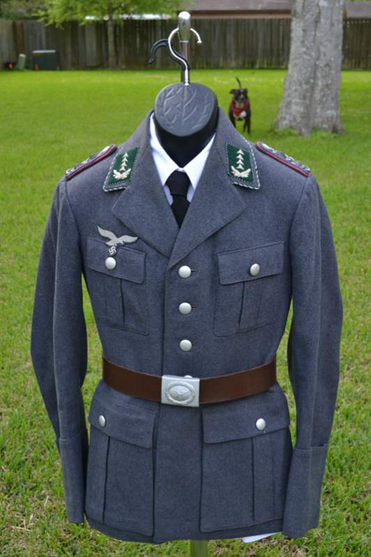 Scarcely found Luftwaffe Uniform