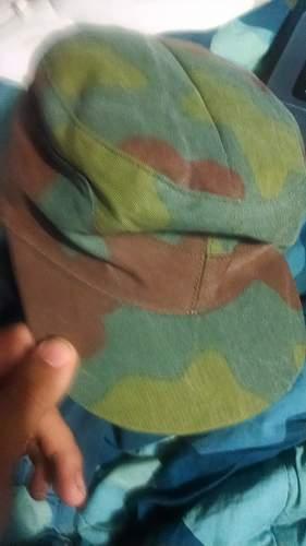 some kind of Italian camo hat?