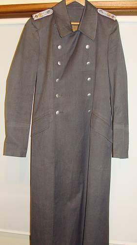 M38 Luftwaffe overcoat