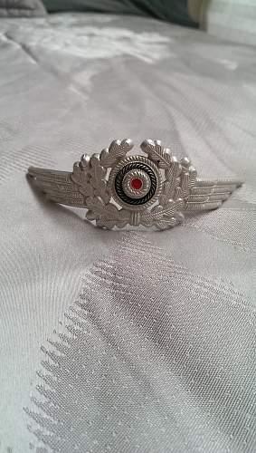 Luftwaffe cap set