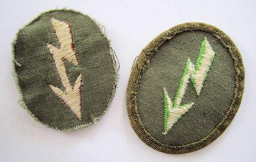 Question: Tropical sleeve insignia grouping, opinions?