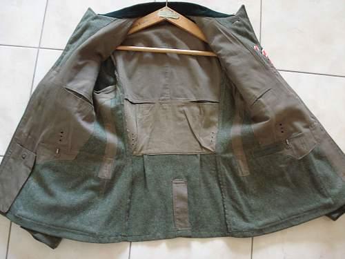 WH panzer mle 36 jacket