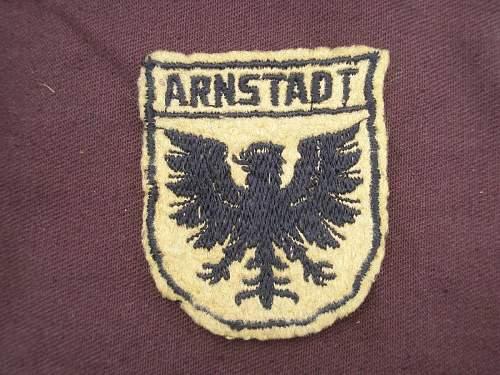 Arnstadt shield