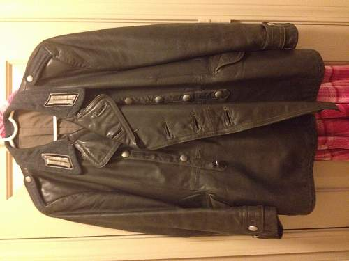 Opinions on a leather jacket given to me as a gift?