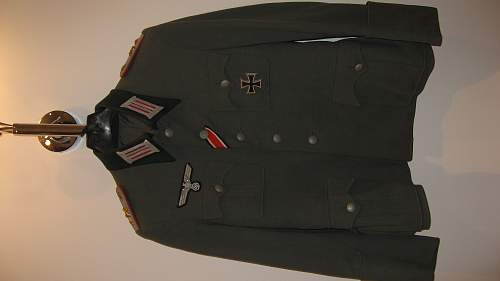 my first wehrmacht uniform