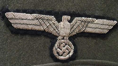 my first wehrmacht uniform