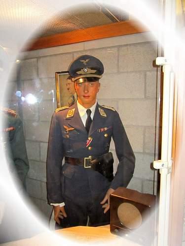 Luftwaffe shirt and tie