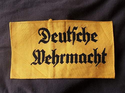 German armbands.