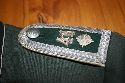 Heer Infantry Waffenrocks