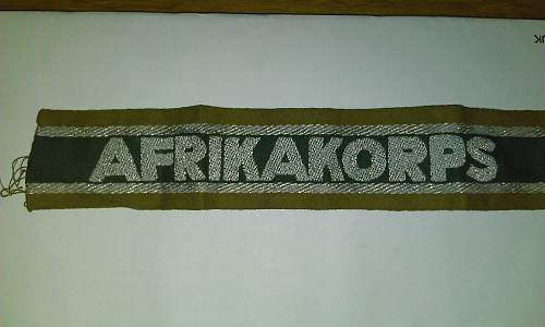 Afrika Korps Real or Fake?