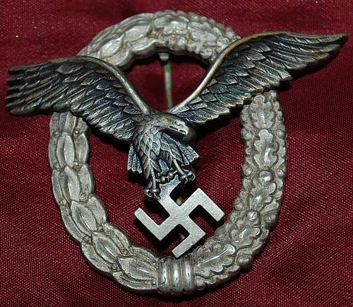 Luftwaffe pilots badge