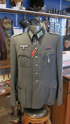 Mountain Troops Oberleutnant tunic