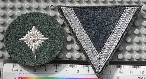 Three German Patches Help with Value please