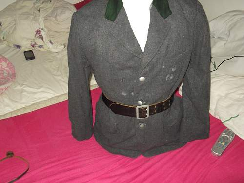 Luftwaff foresty service tunic