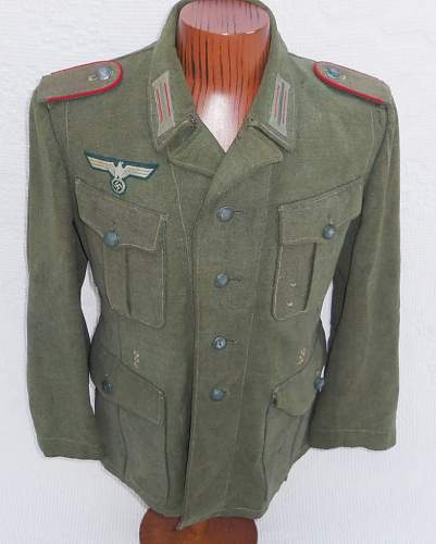 Need help on German Tunic