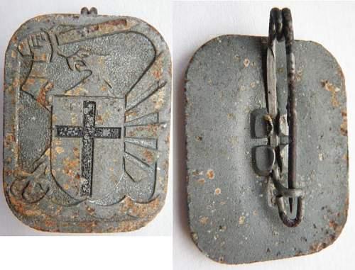 121 Infanterie Division insignia