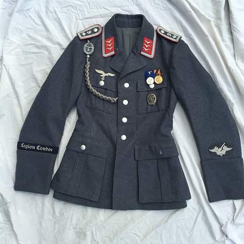 Luftwaffee Waffenrock flak