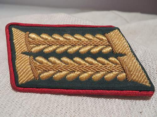 Collar patch from a tunic