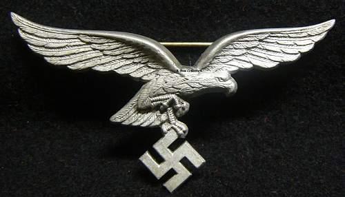 Luftwaffe breast eagle badge