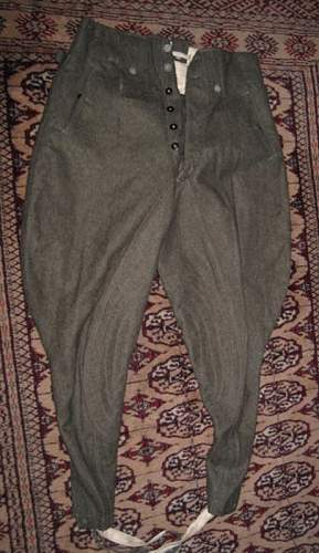 German trousers?  I need help...