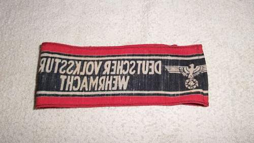 Peoples Army armband