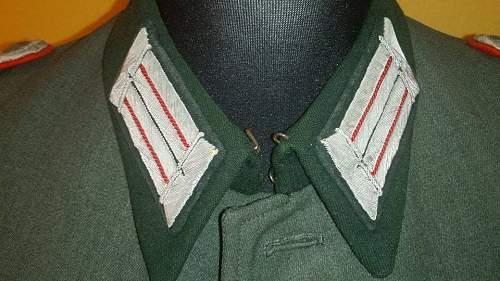 artillerie gun officer of ,,jager,, units opinions
