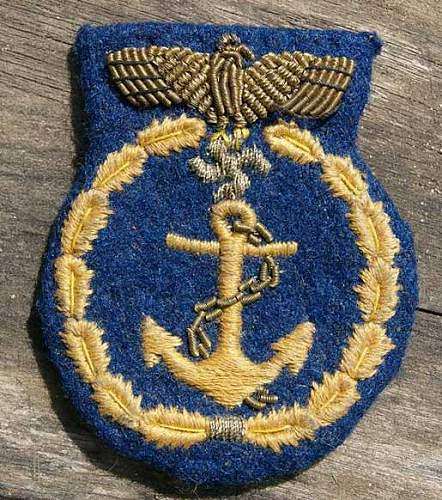 Kriegsmarine patch