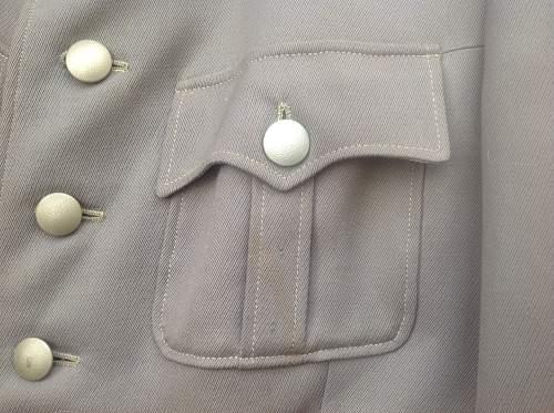 Heer Pioneers Majors service dress tunic
