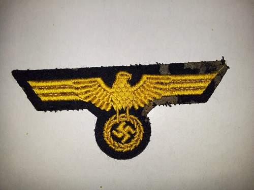 Identifying insignia - Normandy 1944