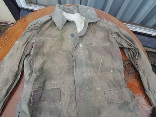 Tarnjacke Wehrmacht (camouflage jacket) authentic?