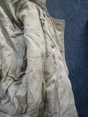 Sumpftarn wendejacke Damaged condition