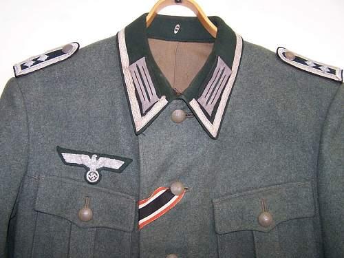 Pioneer Heer tunic