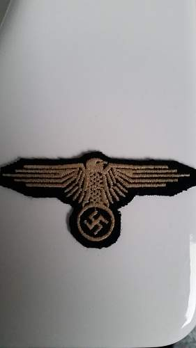 German patches. Real? WW2? Please educate me
