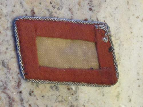 Luftwaffe Officers collar tab for review