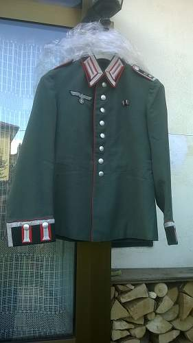 Artillery dress tunic