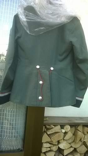 Artillery dress tunic