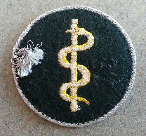 Heer medical officer sleeve insignia