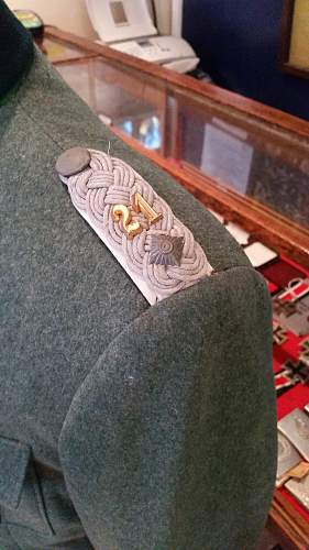Heer Infantry officers tunic.