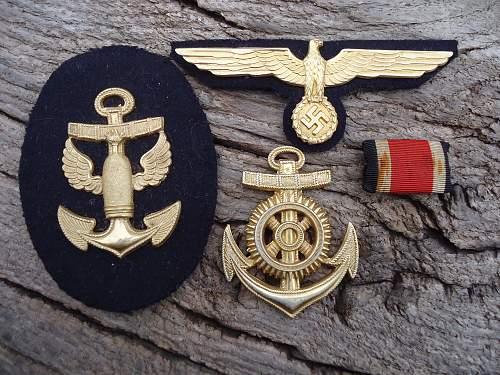 A Little bundle of Kriegsmarine badges