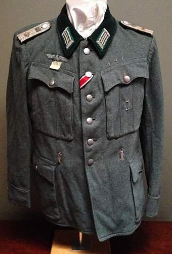 Heer officer's tunic
