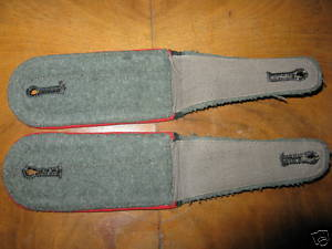 Heereswaffenmeisterschule Shoulder Boards - Nifty, Cool, Rad - and RARE, RARE, RARE!