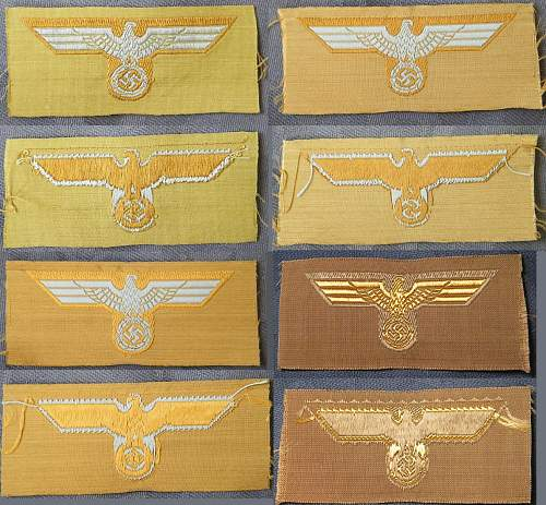 Click image for larger version.  Name:Heer &KM trop cap eagles unissued examples.jpg Views:14 Size:273.3 KB ID:817191