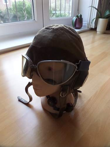German ww2 Flying helmets used by Finnish Airforce