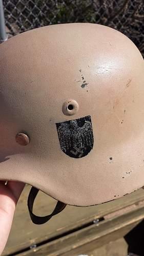 Afrika Korps Helmet?