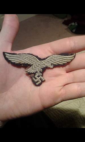 Luftwaffe breast eagle:..real or fake?