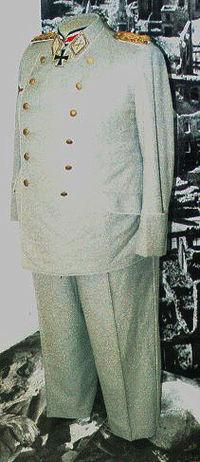 Hermann Goering's uniform!!!
